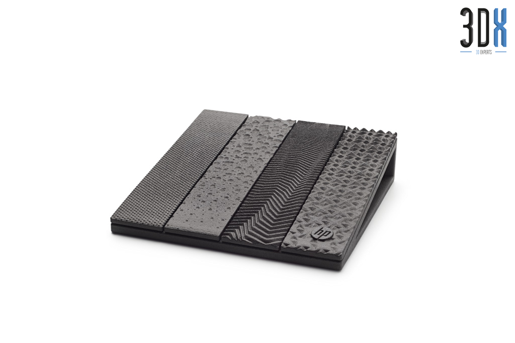 HP Jet Fusion 3D Druck Musterteil Oberflächen gedruckt in Pa 12