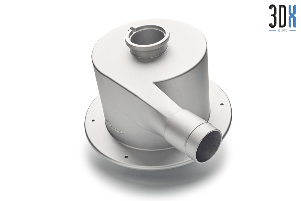 HP Jet Fusion 3D Druck Musterteil gedruckt in Pa 12