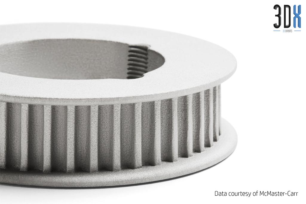 HP Metal Jet Fusion 3D Musterteil