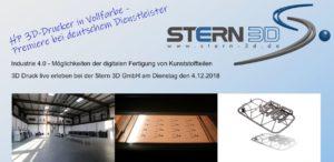 3D-Druck live erleben bei der Stern 3D GmbH @ Stern 3D GmbH | Niedereschach | Baden-Württemberg | Deutschland