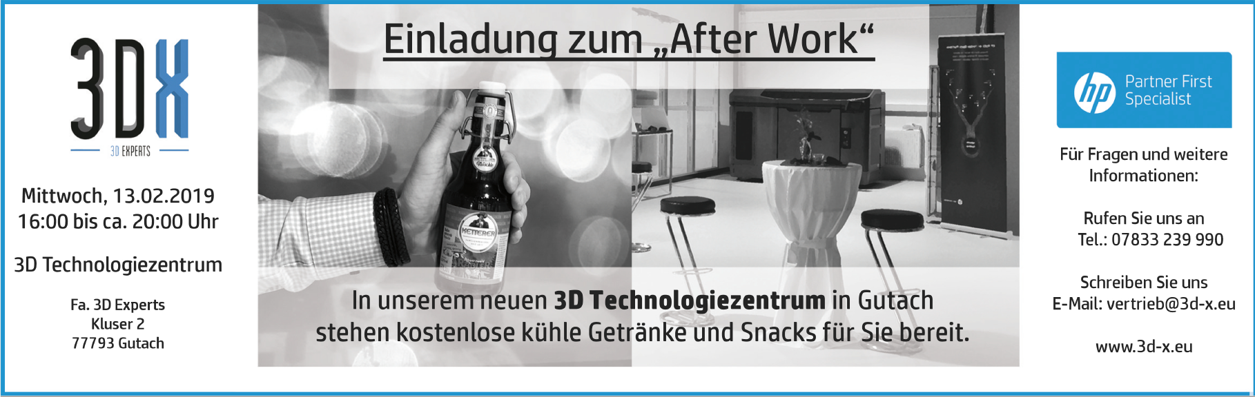 After Work Einladung
