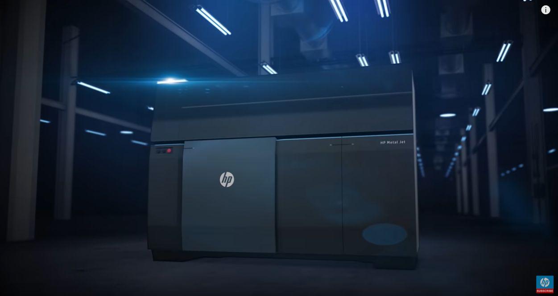 HP Metal Jet Fusion 3D Drucker – How it works