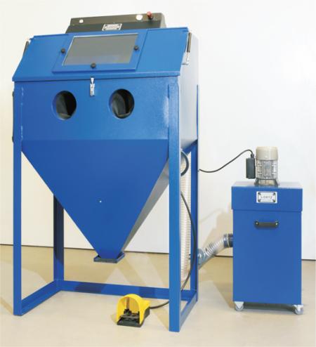 3D Druck Zubehör Sandstrahlkabine Lortz LS1000 Aufbau