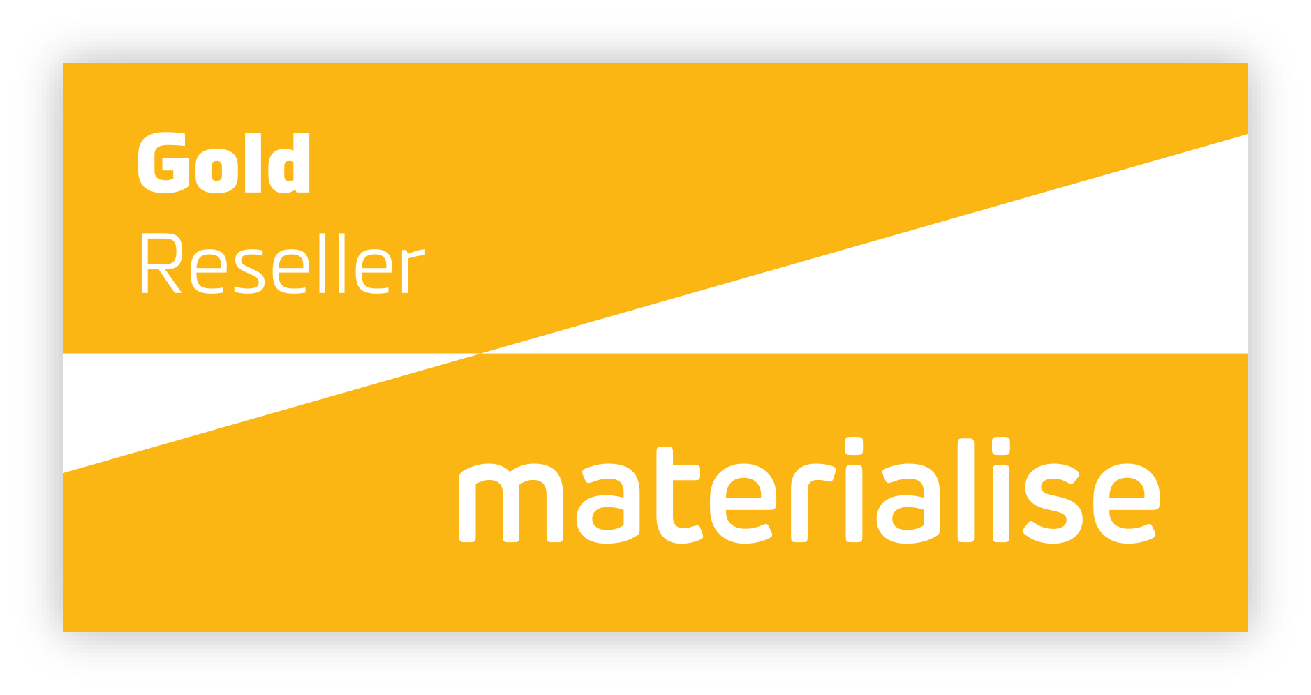 Materialise Reseller Gold Logo