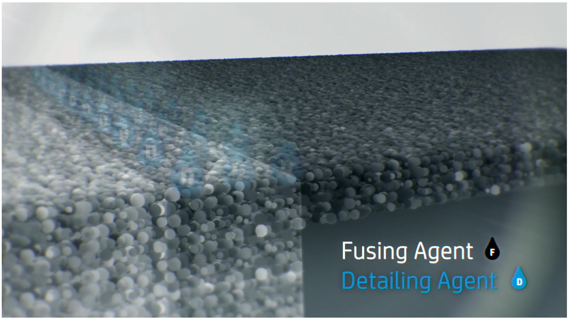 Arbeiten mit dem HP Jet Fusion 3D-Drucker