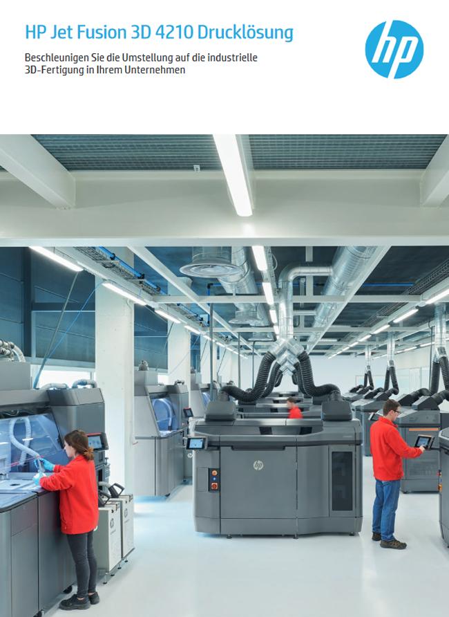 HP Jet Fusion 3D 4210 Drucklösung