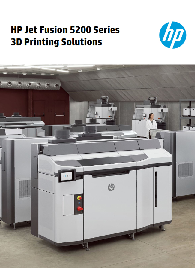 HP Jet Fusion 5200 Series 3D Printing Solutions